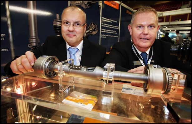 Large number of visitors on GKN stand