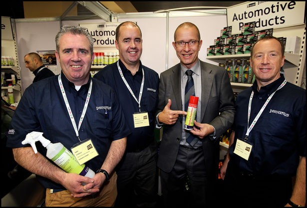Innovation Ireland showcases Novatio range at Auto Trade Expo