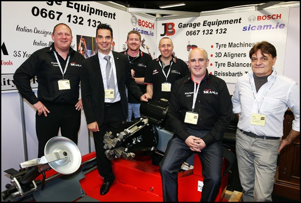 JB Garage Equipment gets great response to Sicam range at Auto Trade Expo