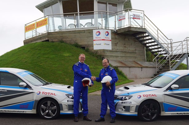 Finol Oils partners with Rally School Ireland