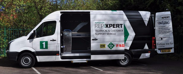 Schaeffler hits the road with new fleet of Technical & Customer Support vehicles