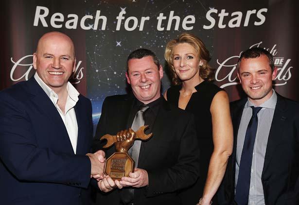 M50 Truck & Van Centre wins  HCV Aftersales Main Dealer of the Year