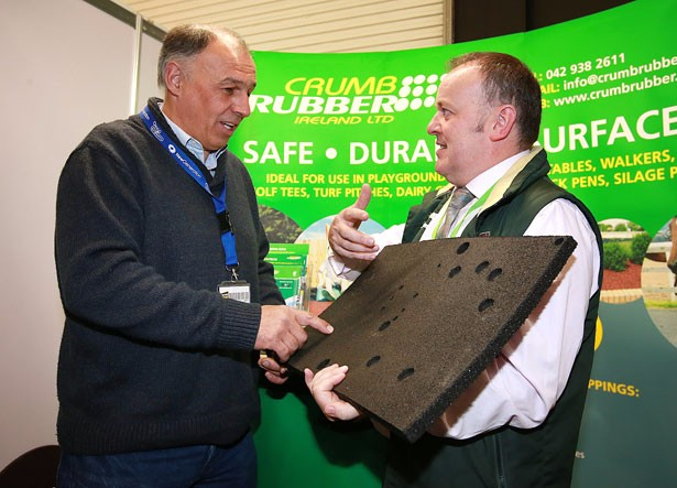 Crumb Rubber showcases innovative products at Auto Trade EXPO