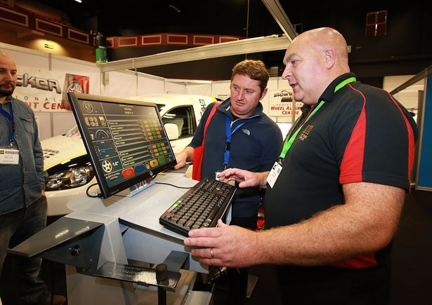 DM Supplies (NI) Ltd showcases wheel alignment at Auto trade EXPO