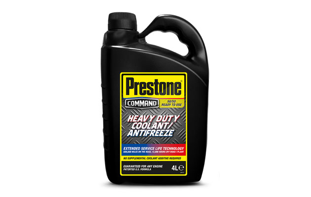 Prestone Command Coolant keeps fleets on the road