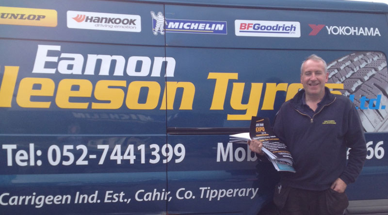 EXPO teams calls on Co. Tipperary tyre centres