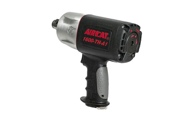 """Techplus adds  Aircat 1"""" super duty pistol impact wrench"""