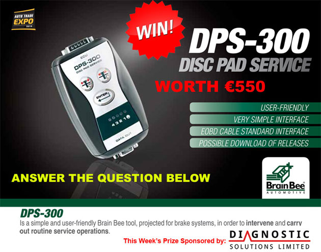 Mallow man wins  BrainBee DPS-300 service tool sponsored by Diagnostic Solutions