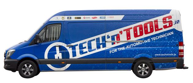 Tech 'n' Tools introduces tools and diagnostics van