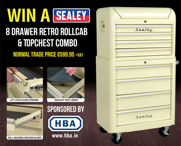 Win a Sealey Toolchest worth €1,000