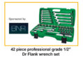 Ashbourne man wins Drive Flank wrench set sponsored by BNR Ltd Toptul Ireland