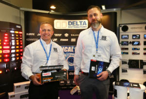Delta Distributers stand