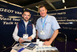 Kevin Egan Cars Sligo stand