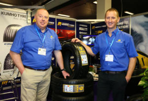 Modern Tyres stand
