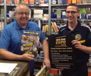 Rory Clake & Dave Murray, Autelco Motor Factors Tullamore