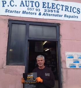 Paul Claffey, PC Auto Electrics Tullamore