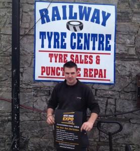 Ryan Monaghan, Railway Tyres Ltd Edenderry