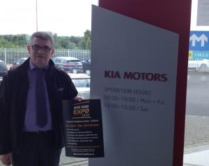 Pat mcNamee, Lawton & Foley Motors Kia Edenderry
