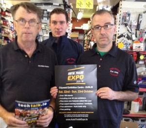 Brendan Grimes, Mark Walsh, Alan Heavey, Trim Motor Factors