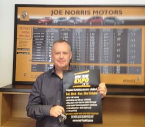 Anthony Fortune Joe Norris Motors Navan