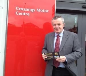 David Kennedy Crossing Motors Toyota Naas